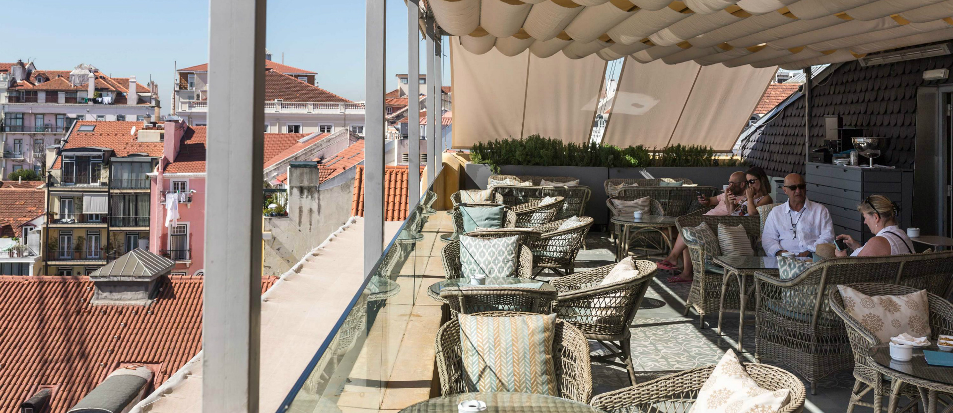 Best rooftops in Portugal: Terraço BA what to do in lisbon What To Do In Lisbon: 48 Hours In The Capital Carrocel 2 73