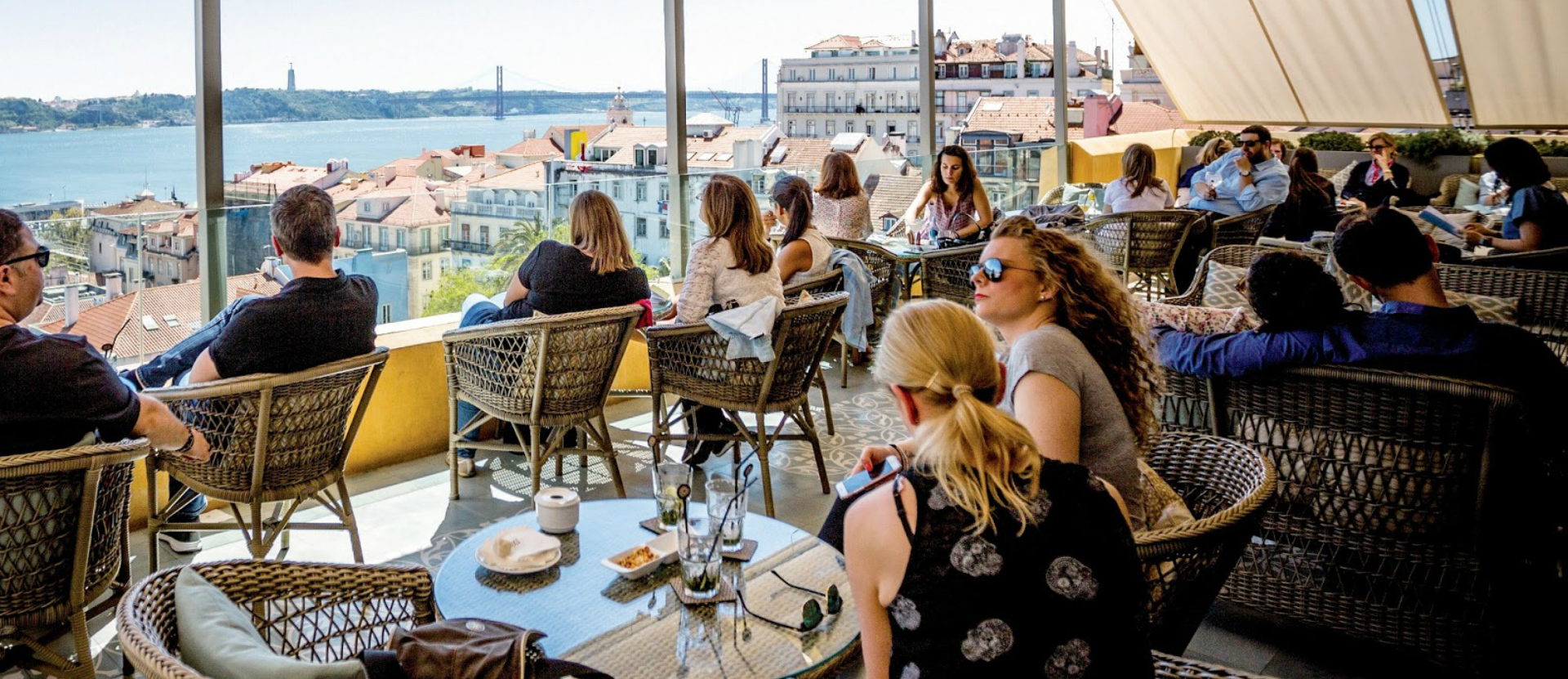 Best rooftops in Portugal: Terraço BA what to do in lisbon What To Do In Lisbon: 48 Hours In The Capital Carrocel 3 72