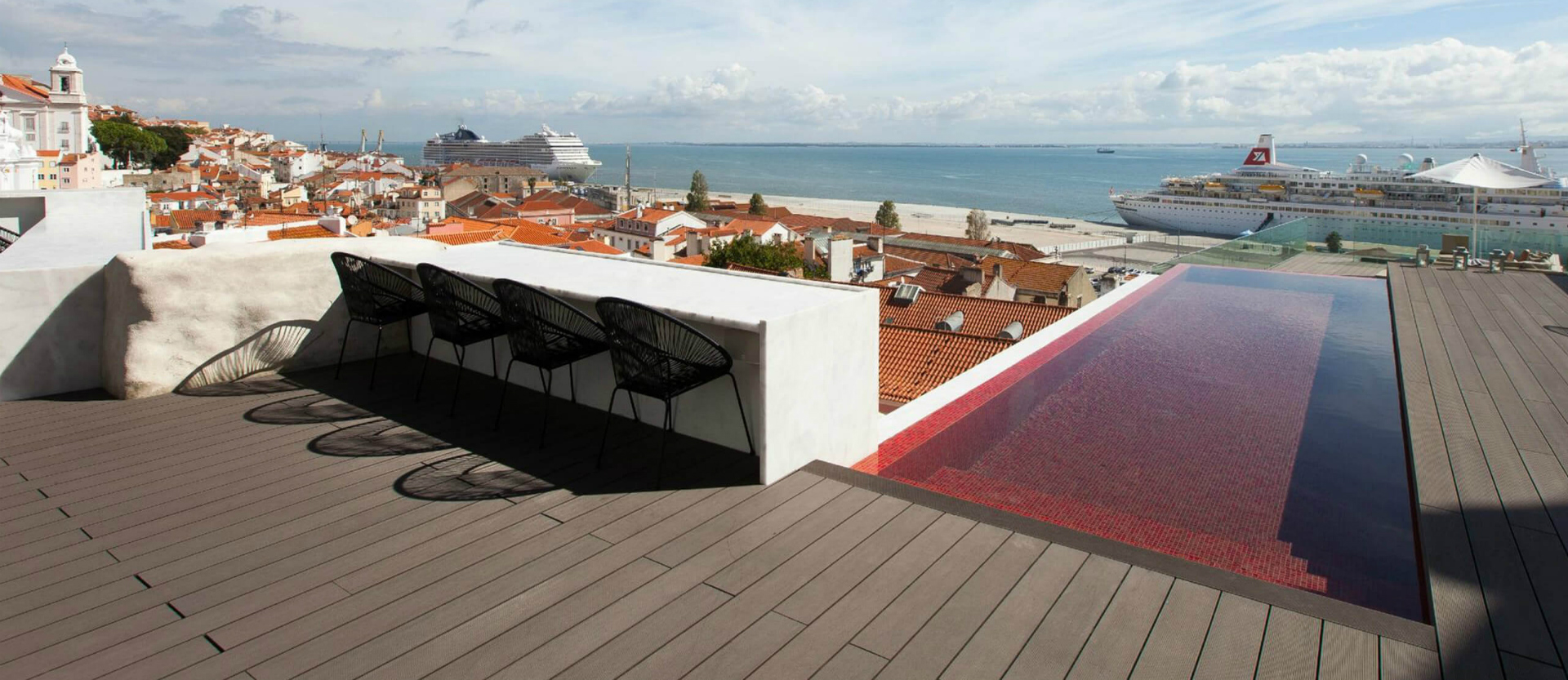 Best rooftops in Portugal: Memmo Alfama what to do in lisbon What To Do In Lisbon: 48 Hours In The Capital Carrocel 3 88