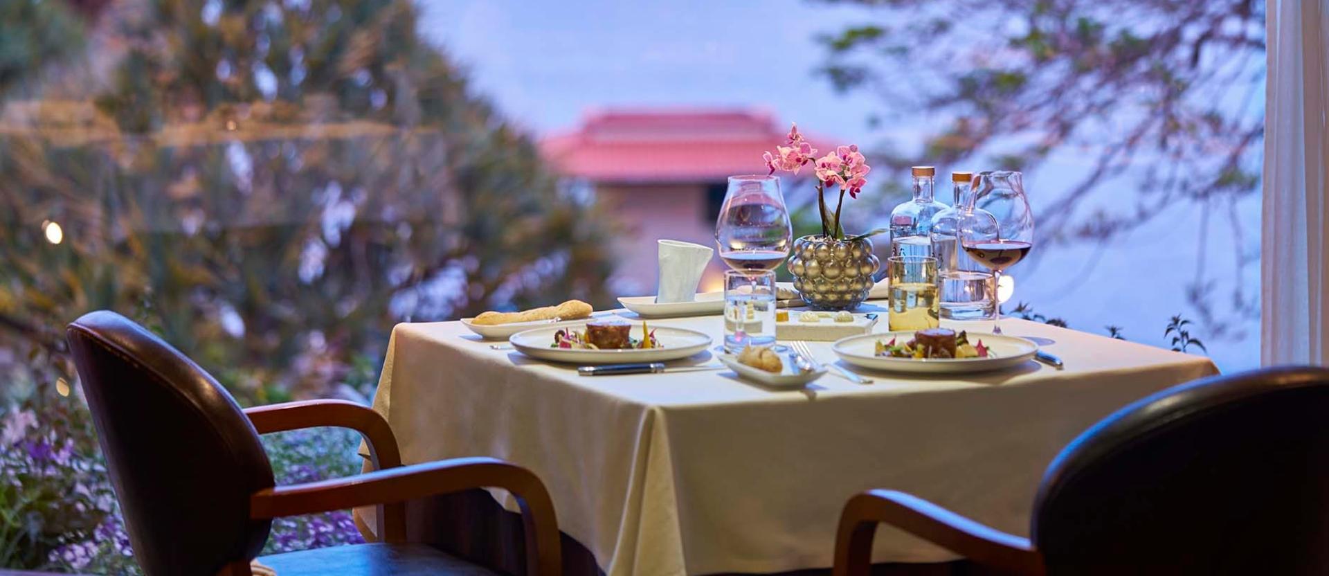 Michelin star restaurants: Il Gallo d'Oro michelin star restaurants Michelin star restaurants: The complete guide for 2019 ilgallodoro vista