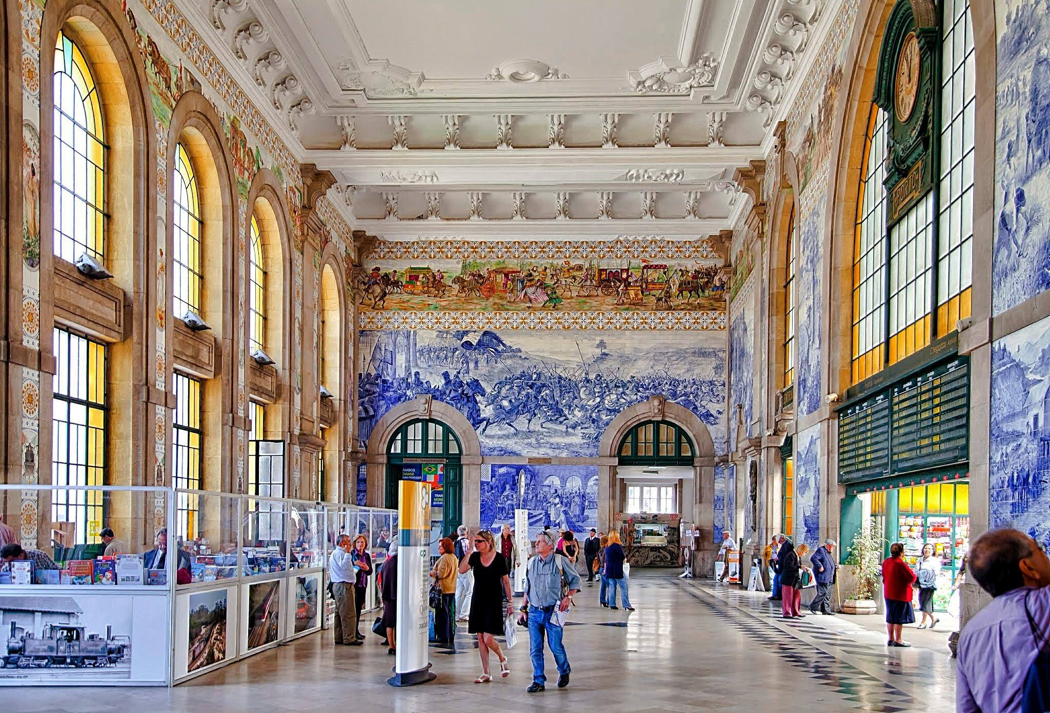 Best Architectural Design: Estação de São Bento what to do in porto What to do in Porto: 48 hours in the Undefeated city bento7