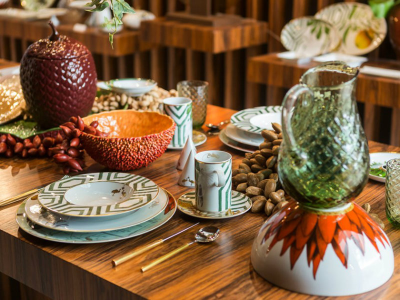 Discover Everything About The New Amazon Inspired Colection From Vista Alegre vista alegre Discover Everything About The New Amazon Inspired Colection From Vista Alegre b AMAZ  NIA Bowl Vista Alegre 383966 rel4afb3558