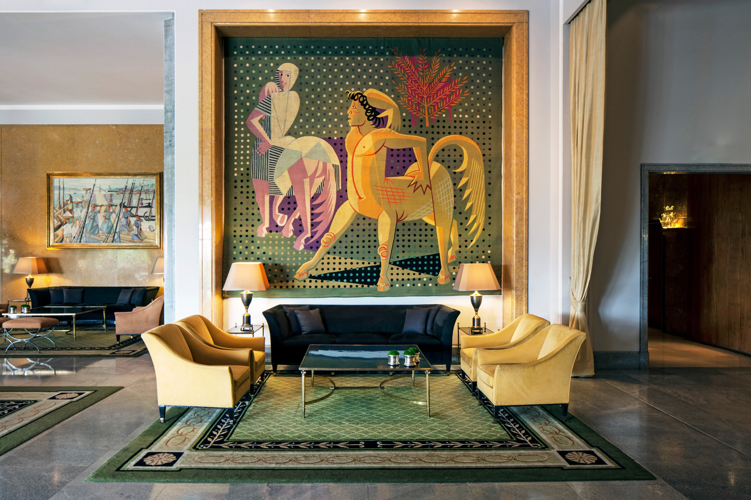 Best Hotels in Central Portugal hotels Best Hotels in Central Portugal Four Seasons Hotel Ritz Lisbon Lobby Lounge