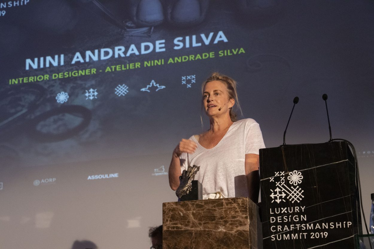 LUXURY DESIGN & CRAFTSMANSHIP SUMMIT 2019: THE HIGHLIGHTS nini andrade silva EXCLUSIVE INTERVIEW WITH NINI ANDRADE SILVA, The Mastermind Behind Villa Foz Hotel Design IMG 9364 e1562578624898