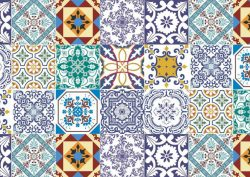 portuguese tiles Portuguese Tiles: More Than a Decoration Motif adesivo de parede azulejos 15 papel de parede 4602656385928603994325 1 250x177