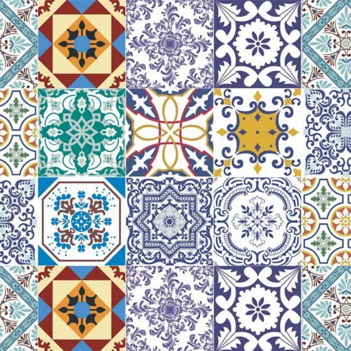 portuguese tiles Portuguese Tiles: More Than a Decoration Motif adesivo de parede azulejos 15 papel de parede 4602656385928603994325 1 700x700