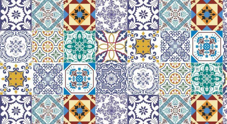 portuguese tiles Portuguese Tiles: More Than a Decoration Motif adesivo de parede azulejos 15 papel de parede 4602656385928603994325 1 750x410