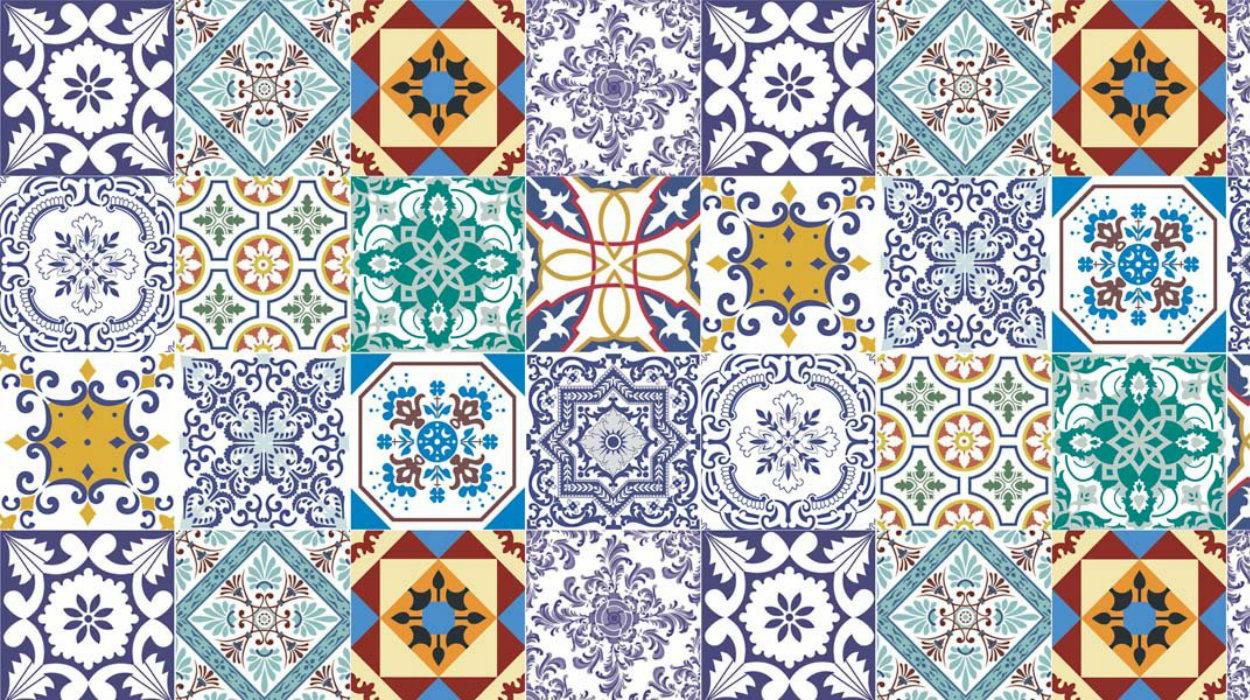portuguese tiles Portuguese Tiles: More Than a Decoration Motif adesivo de parede azulejos 15 papel de parede 4602656385928603994325 1