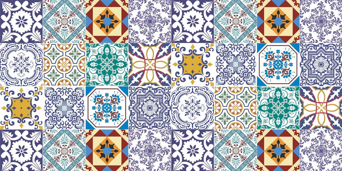 Portuguese Tiles: More Than a Decoration Motif  portuguese tiles Portuguese Tiles: More Than a Decoration Motif adesivo de parede azulejos 15 papel de parede 4602656385928603994325