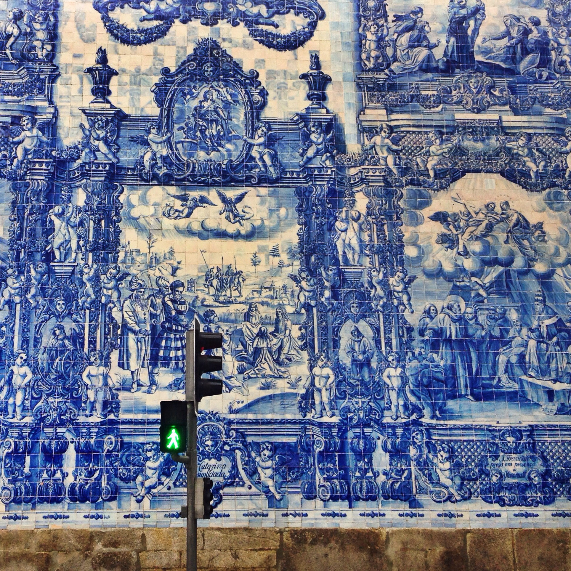 Portuguese Tiles: More Than a Decoration Motif  portuguese tiles Portuguese Tiles: More Than a Decoration Motif azulejo porto foto traveling banana