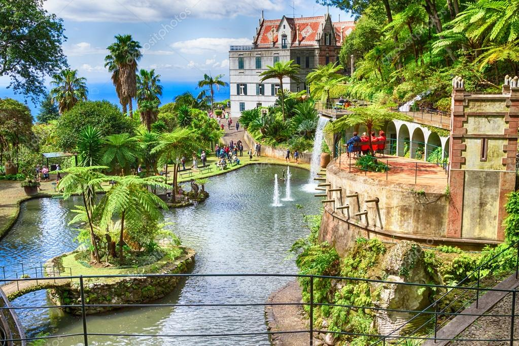The Best Secret Places From Portugal The Best Secret Places From Portugal  secret places The Best Secret Places In Portugal depositphotos 82924706 stock photo scenic of monte palace tropical