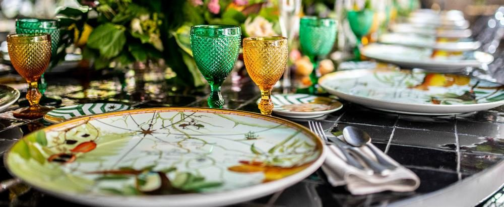 Vista Alegre Has The Perfect Look For our Summer Table