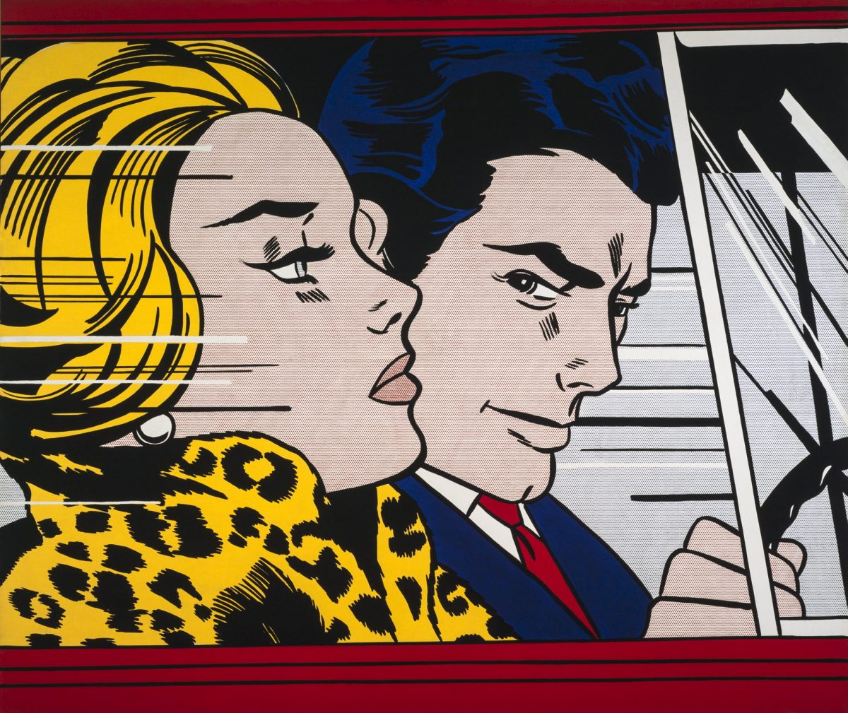 Joana Vasconcelos And Andy Warhol Together For Pure Pop Art joana vasconcelos Joana Vasconcelos And Andy Warhol Together For 'Pure Pop Art' Roy Lichtenstein In the Car 1963 e1562594721548