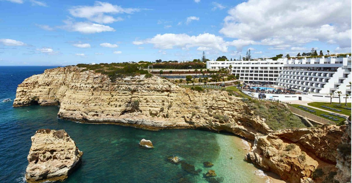 Secrets Itinerary: Discover All About Algarve And Its Beaches algarve Secrets Itinerary: Discover All About Algarve And Its Beaches tivoli carvoeiro algarve resort exterior 1 1920x1000 e1563372213435