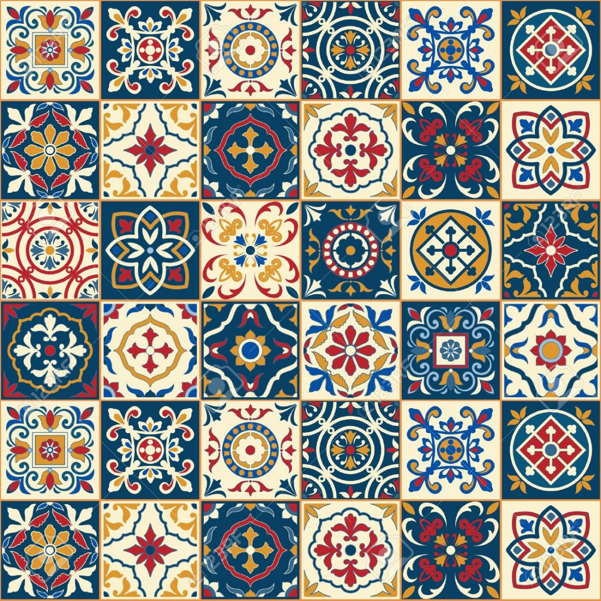 7 LUXURY DAYS IN PORTUGAL portugal 7 LUXURY DAYS IN PORTUGAL 49958011 gorgeous seamless pattern white colorful moroccan portuguese tiles azulejo ornaments can be used for 1 e1566986332326