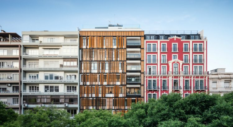 lisbon wood residential Best Architecture Projects: Lisbon Wood Residential Building Best Architecture Projects Lisbon Wood Residential Building 4 1 750x410