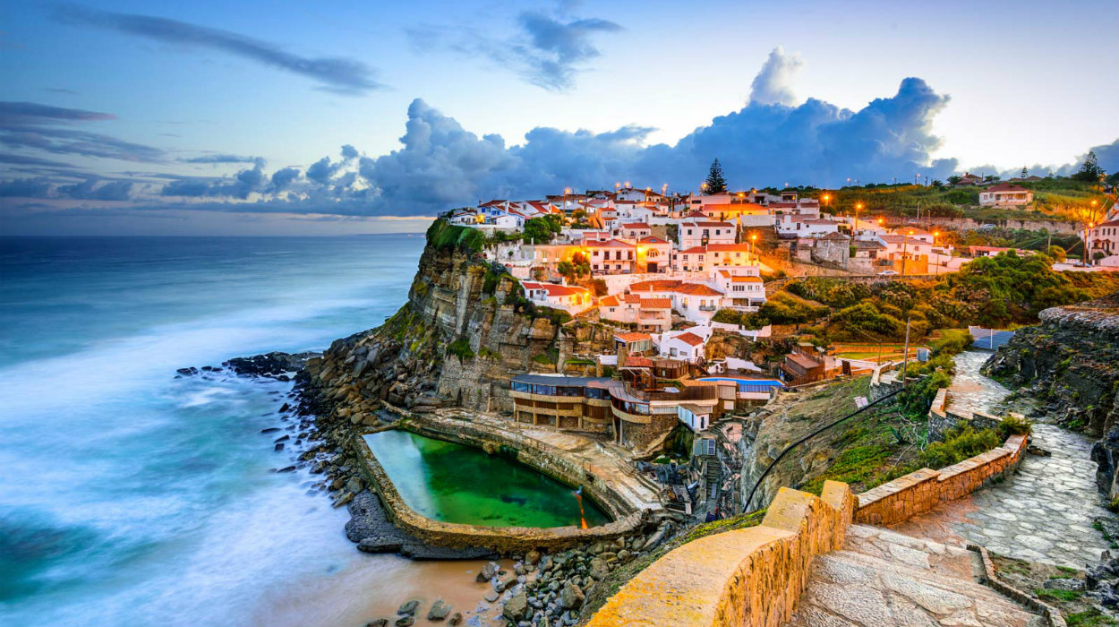 portugal Condé Nast Traveller Chose Portugal As The Best European Destination Of 2019 azenhas do mar portugal 1