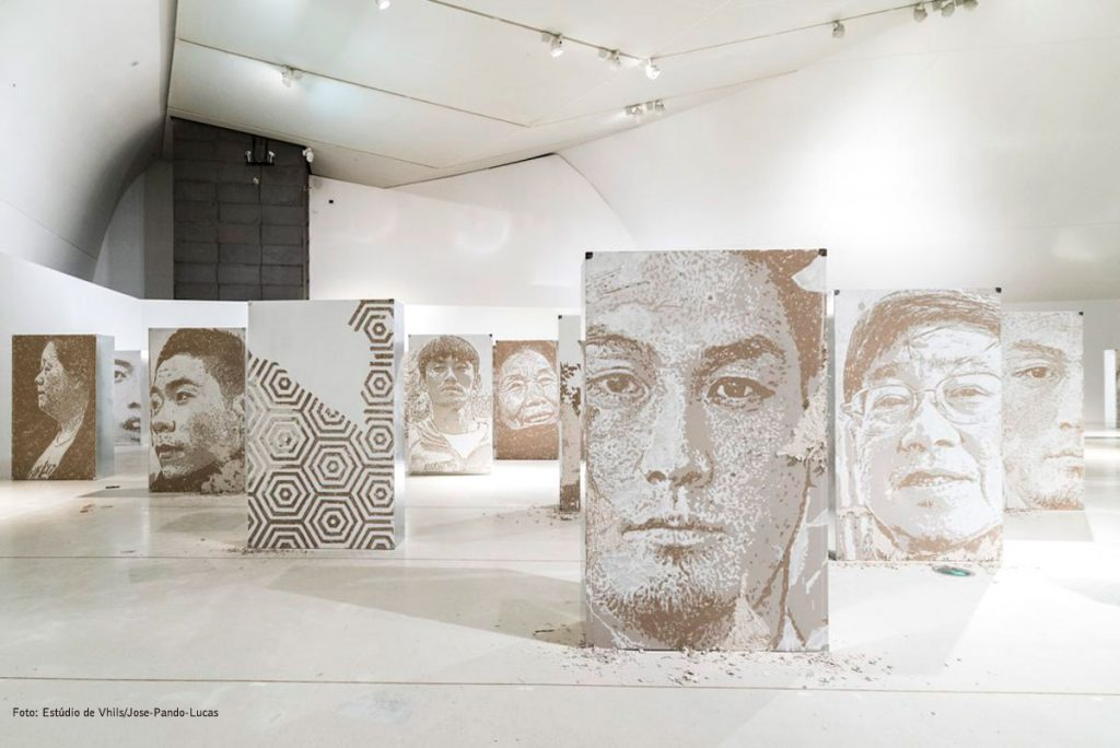 Vhils Opens Its First Major Solo Exhibition in the United States vhils Vhils Opens Its First Major Solo Exhibition in the United States Vhils Opens Its First Major Solo Exhibition in the United States 7 1024x684