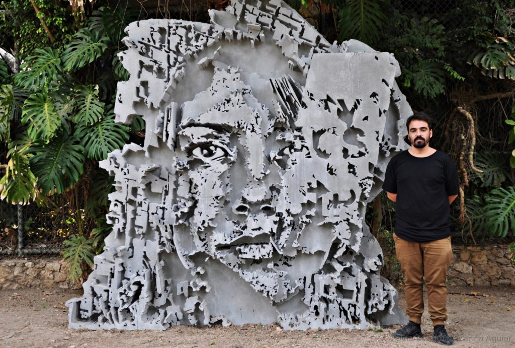 Vhils Opens Its First Major Solo Exhibition in the United States vhils Vhils Opens Its First Major Solo Exhibition in the United States Vhils Opens Its First Major Solo Exhibition in the United States 8 1024x691