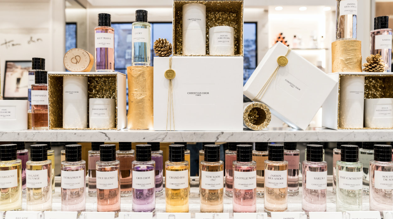 Dior Declares his Love for Perfume with the First Boutique in Lisbon feat