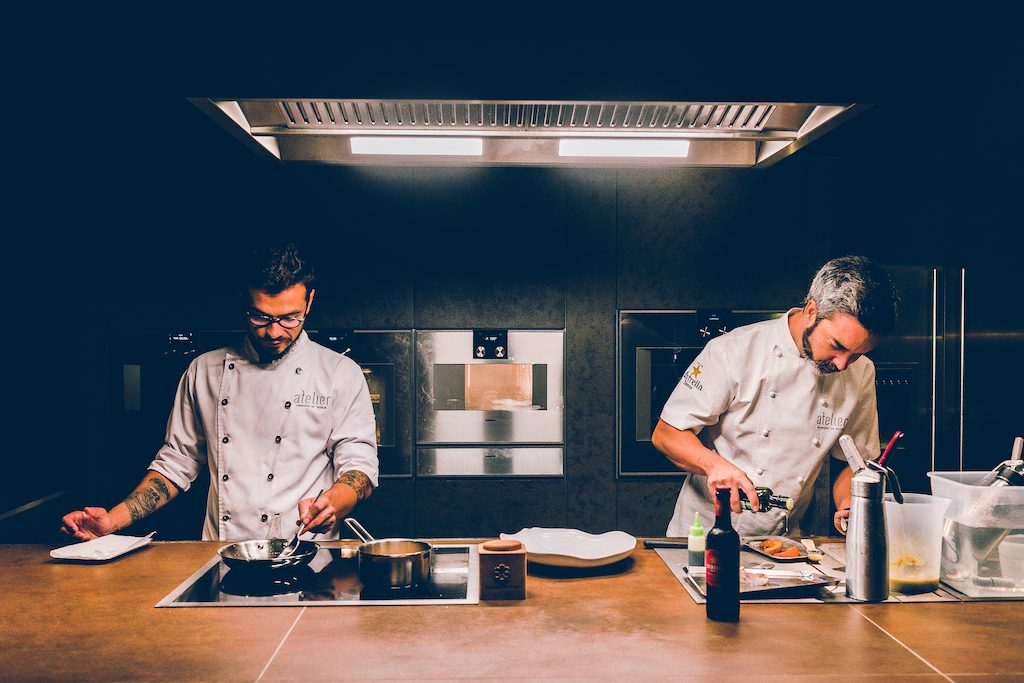 Michelin-Starred Chefs Bring the Art of Tasting Portugal to the Table chefs Michelin-Starred Chefs Bring the Art of Tasting Portugal to the Table SESSAO ATELIER 1 14 1024x683