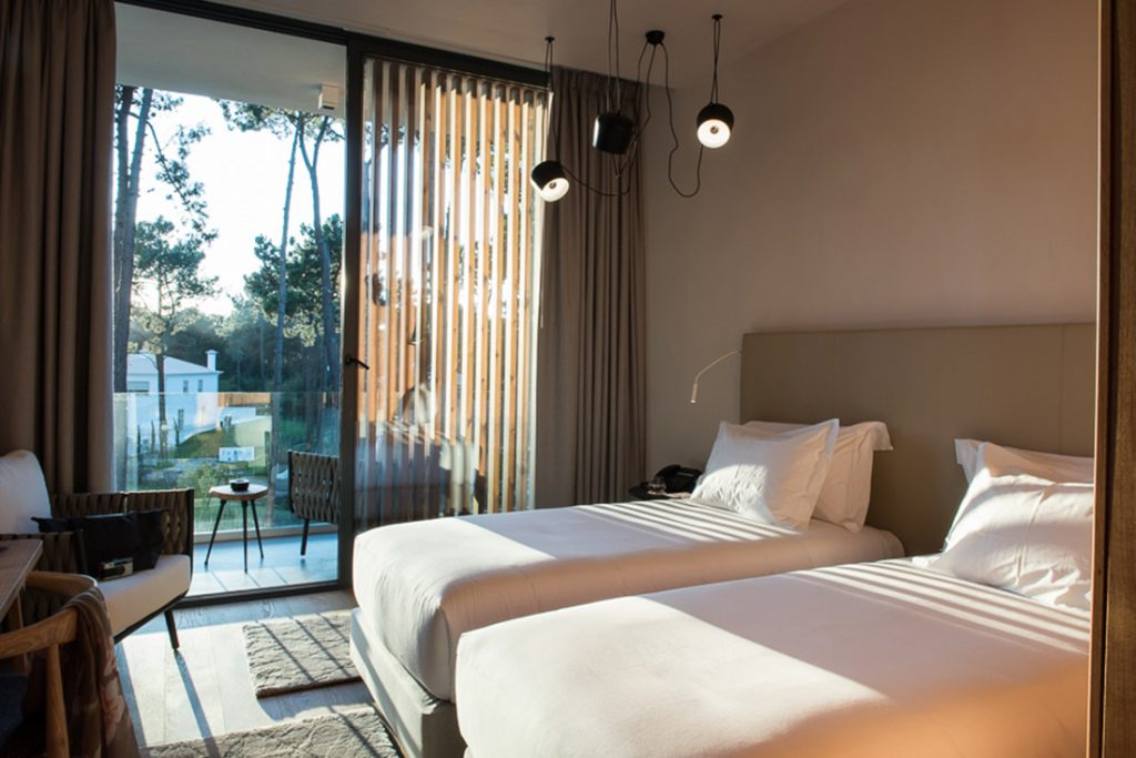 Paradise Near Lisbon: This New Luxury Hotel Combines Golf And Nature  hotel Paradise Near Lisbon: This New Luxury Hotel Combines Golf And Nature quarto jardim aroeira lisbon hotel 02 1024x683