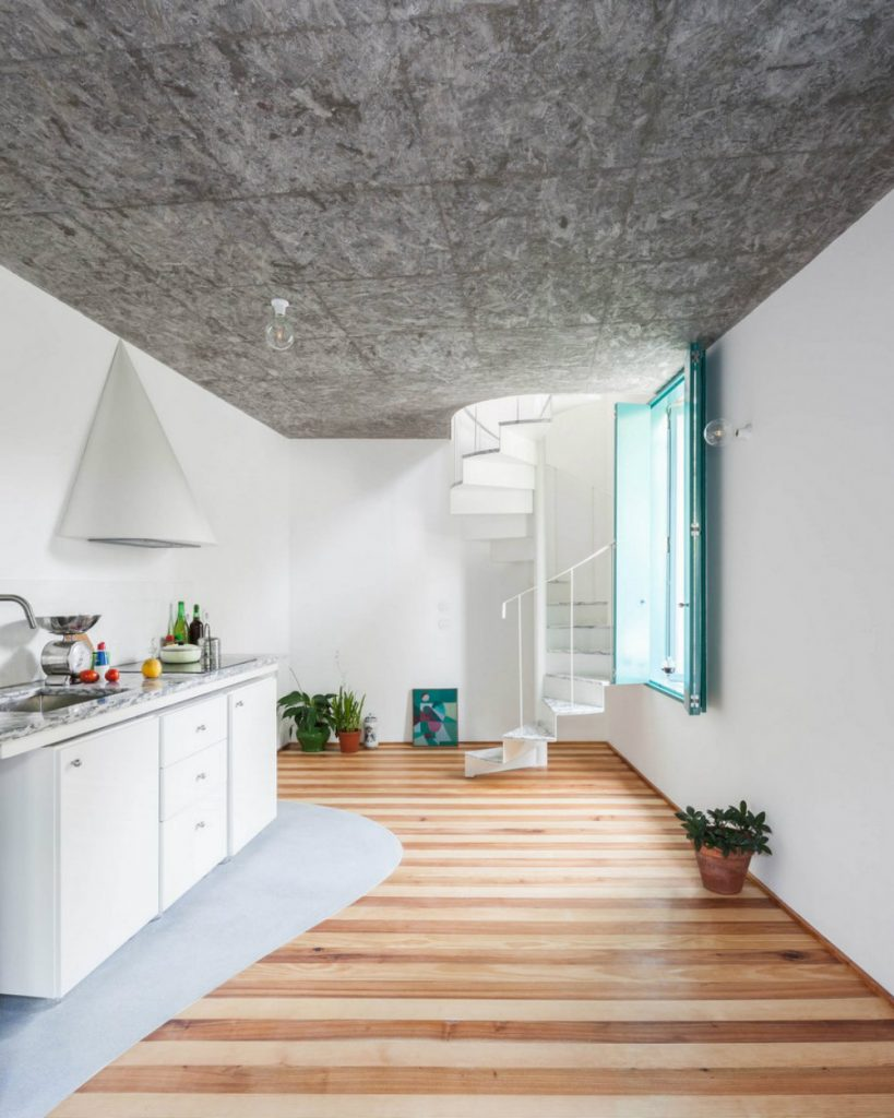 Admire This Small House With A Monumental Shower Tower By Fala Atelier fala atelier Admire This Small House With A Monumental Shower Tower By Fala Atelier admire this small house with a monumental shower tower by fala atelier 2 819x1024