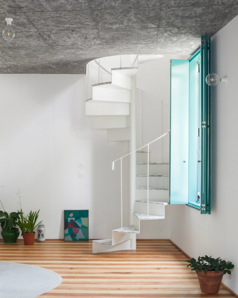 Admire This Small House With A Monumental Shower Tower By Fala Atelier fala atelier Admire This Small House With A Monumental Shower Tower By Fala Atelier admire this small house with a monumental shower tower by fala atelier 3 819x1024