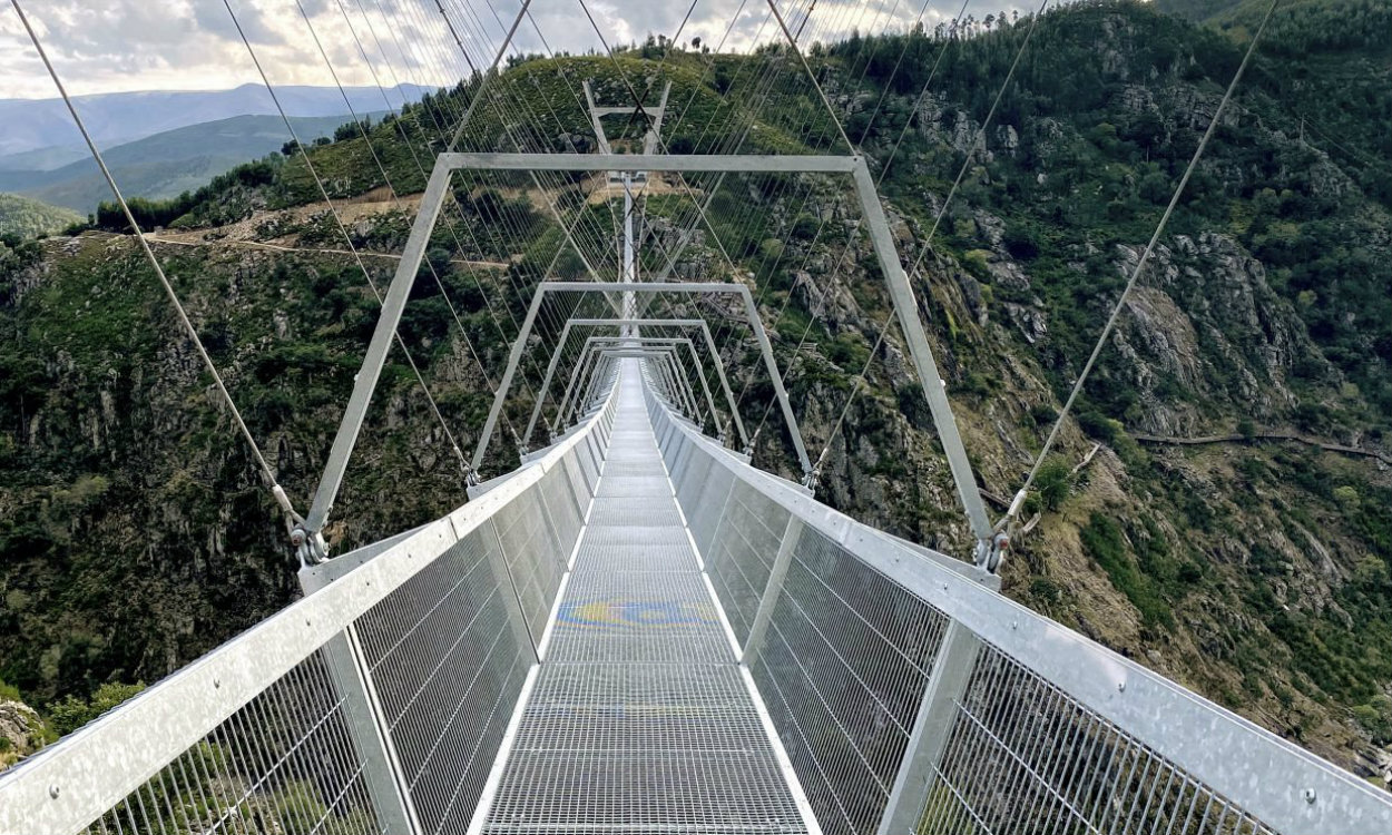 arouca Arouca: Who wants to cross the longest suspension bridge in the world? dsdsdsdsd